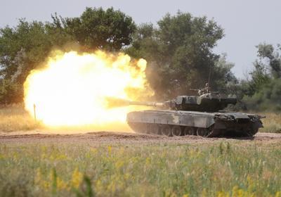 U.S. and Ukraine lead military drills despite Russian protest