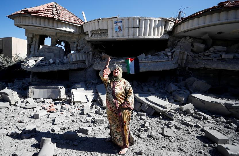 Israel Demolishes Family Home of Palestinian-American Accused of West Bank Attack That Killed Israeli