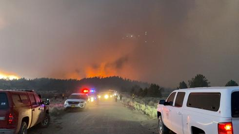 Firefighters deal with extreme conditions as Oregon's Bootleg Fire expands