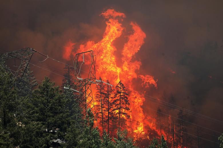 California's Dixie Fire is Third-Largest Wildfire in State History