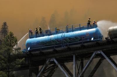 Dixie fire grows in California