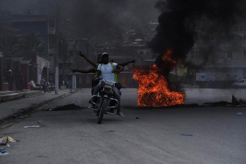 On the streets of Haiti in the shadow of uncertainty