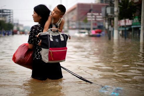 Chinese province swamped by heaviest rains in 1,000 years