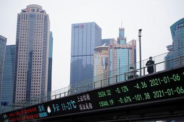 中国株から資金流出、IT・教育業界の規制強化で警戒感