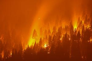Firefighters struggle to contain California's largest fire