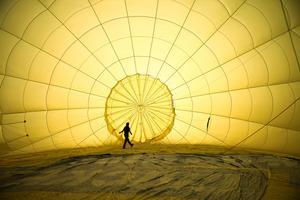 Hot air balloons over Bristol
