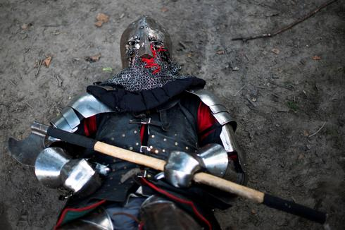 LARPing lords go medieval in Manhattan