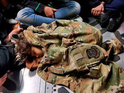 Escaping the Taliban: Evacuees flee Afghanistan