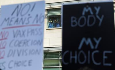 Protesters against COVID measures target Toronto hospital