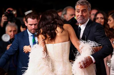 Red carpet moments at the London Film Festival