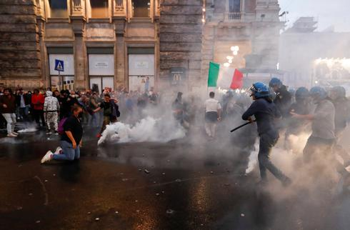 Italy imposes mandatory COVID health pass for work amid protests