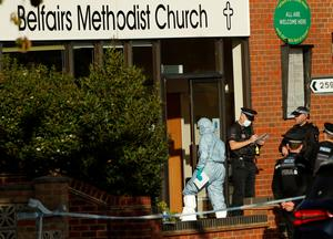 British lawmaker stabbed to death at voter meeting in church
