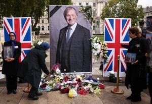 Britons mourn slain lawmaker David Amess