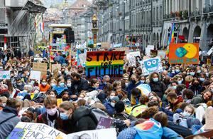 Youth take to the streets in Fridays for Future climate protests