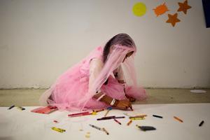 Afghan child evacuees heal with art in Philadelphia